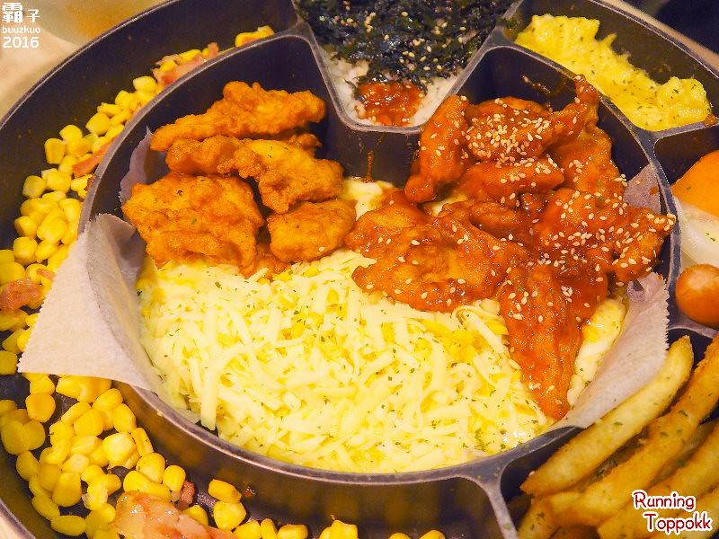 29385071202 9a812e697e b - 奔跑吧!年糕鍋,一中街的韓國年糕鍋專賣,起司雞鍋炸雞沾起司吃,好邪惡阿~