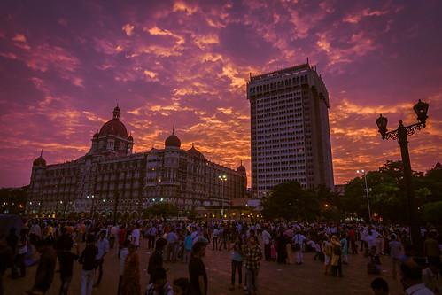 Taj duo of the Mumbai harbour waterfront