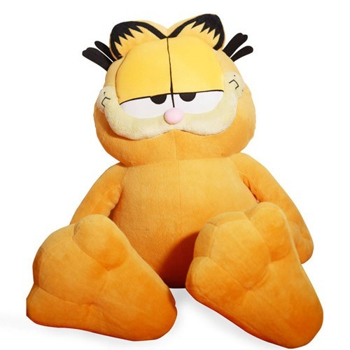 Big Feet Mr Bigwig Garfield With Big Head And Fat Body A Photo On
