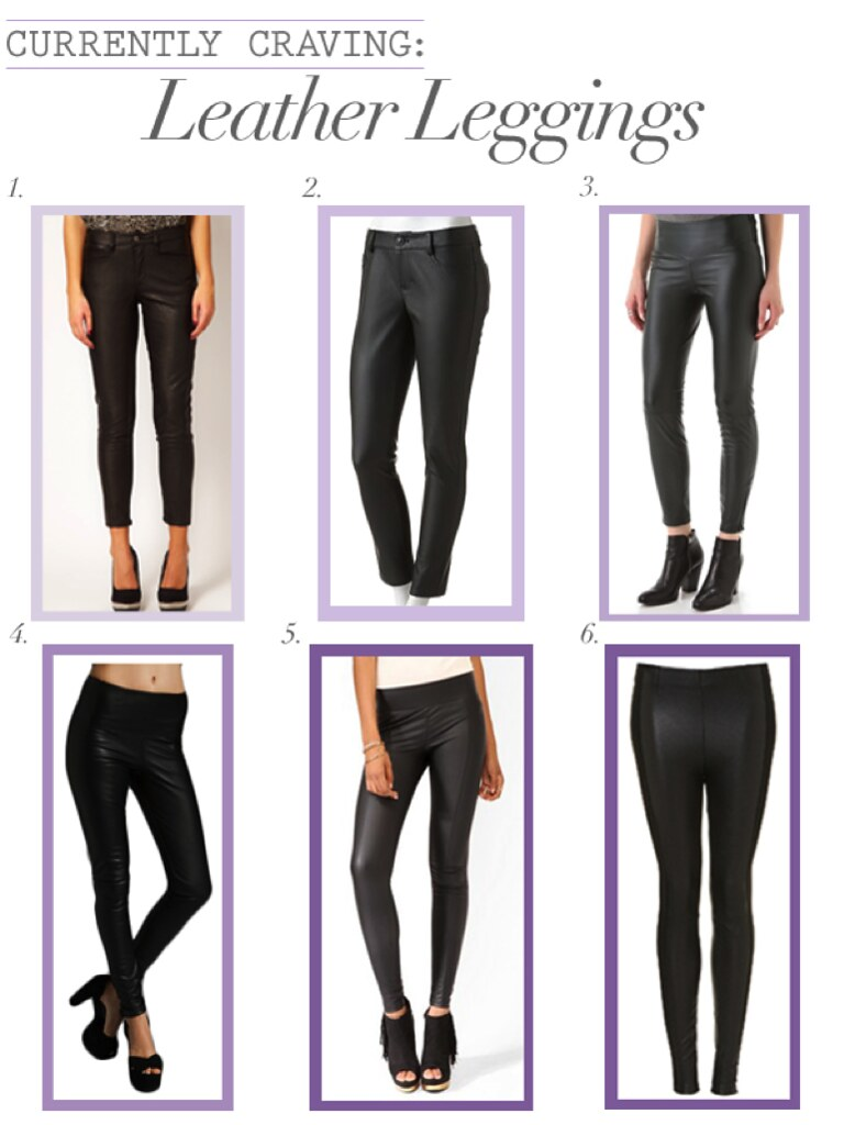Currently Craving: Leather Leggings