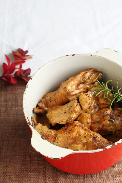Sinepine küülik / Mustard and rabbit stew