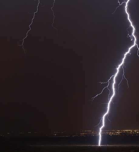 city arizona sky storm nature phoenix weather night clouds landscape cityscape desert sony bolt strike thunderstorm lightning alpha sonoran a390