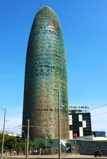 Barcelona poble nou tour agbar architecte jean nouvel flickr photo sha - Architecte jean nouvel ...