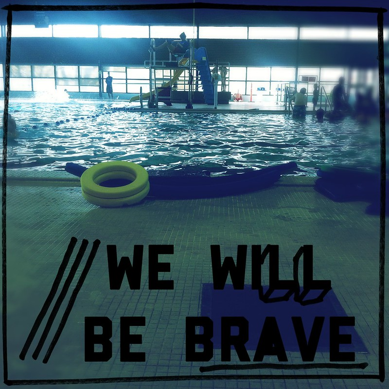 Wacky new film with pre election slogans, combine with swimming lessons: Brave Swimmers