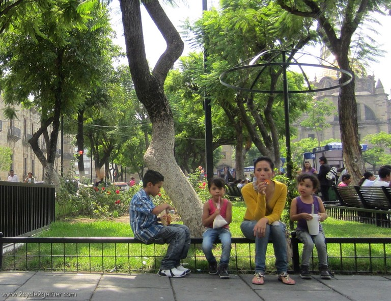 Taking a Shade Break, Guadalajara