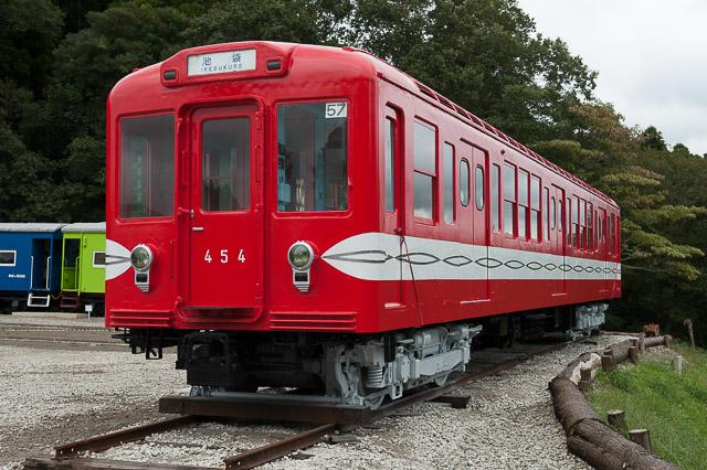 いすみポッポの丘 営団地下鉄丸ノ内線400形454号車
