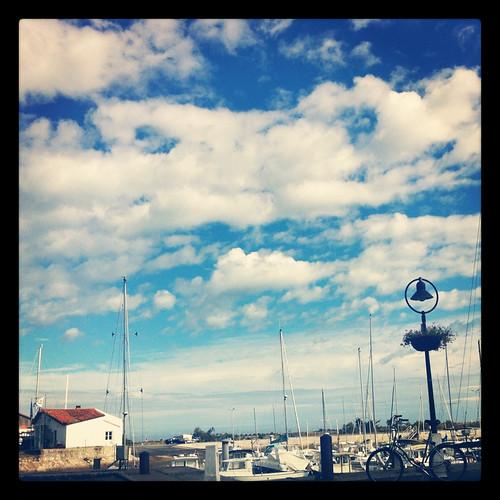 Ars-en-Ré, Hafen, France
