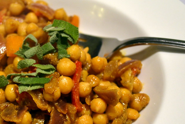 Chick pea curry 5