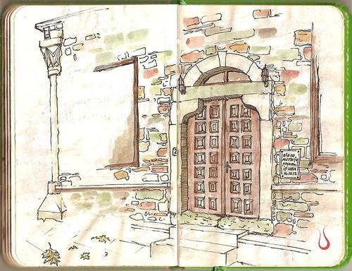 Alaca Mustafa Pasha Mosque's Door, İpsala