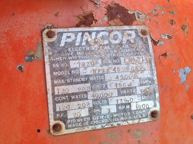 45kW Pincor Generator - Ford 300 propane / natural gas ... on