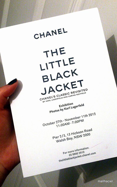 The Little Black Jacket Chanel's classic revisited by Karl Lagerfeld and Carine Roitfeld
