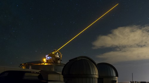 Boeing, Air Force Research Laboratory sodium guide star laser enhancing space situational awareness