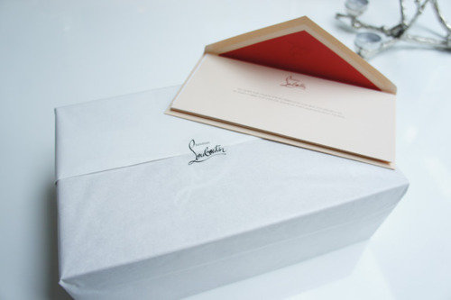 Louboutin Invitacion