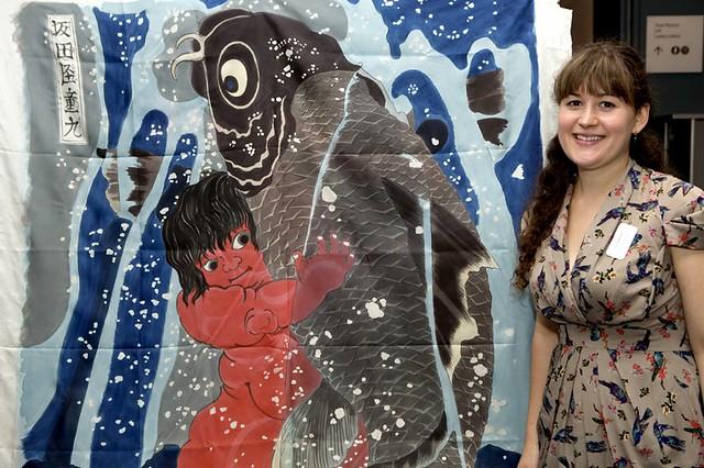 Scenic Art Apprentice Louisa Mozzilli © ROH 2012