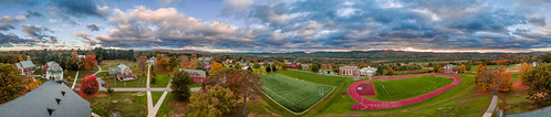 trees panorama fall leaves sunrise unitedstates massachusetts chapel scenics northfield nmh memorialchapel northfieldmounthermon