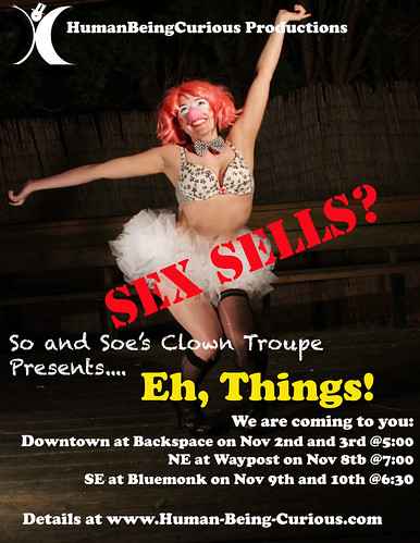 So and Soe's Clown Troupe Presents Eh Things @ The Blue Monk