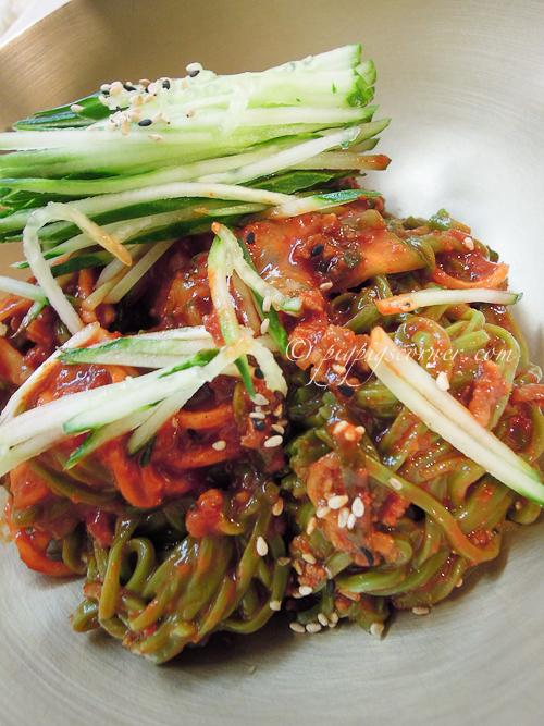 Myeongdong Gyoja, 명동교자 明洞饺子 -cold noodles