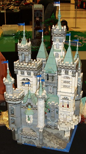 "David Lines' ""Painted Castle"" at BrickCon"