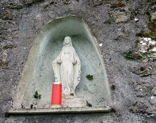 Rathaspick graveyard, Westmeath - Marian shrine