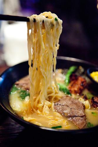 Springy noodles