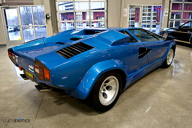 1985 Lamborghini Countach Flickr Photo Sharing
