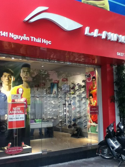 Li-Ning in Hanoi