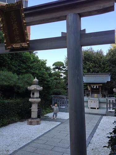 YGPの恵比寿神社 (2012/10/21)
