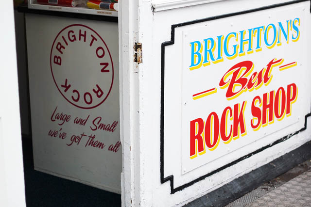 Brighton's Best Rock Shop