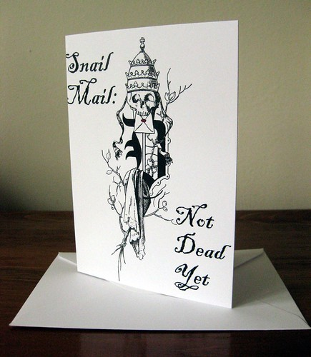 Notecards: Snail Mail, Not Dead Yet