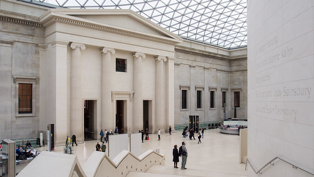 British Museum, London - Image by Flickr user ed_webster