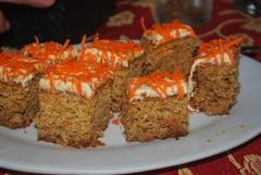 vegetarian food, carrot cake, food, dish, dessert, cuisine,
