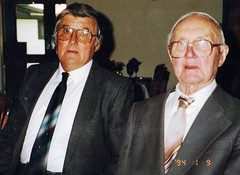 French Folland with son Lionel 1994