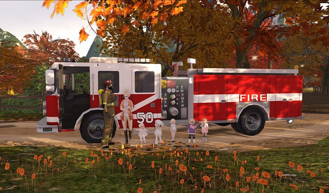 Fire Saftey Week & Maelie's Birthday
