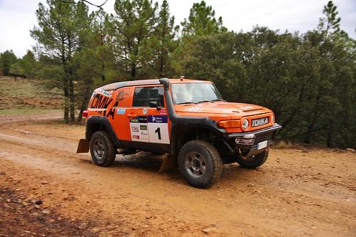 Toyota FJ Cruiser - Tomka Piloto: Antonio López Copiloto: Alberto Carretero