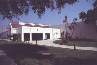 Rains Center, just after it was built in 1989