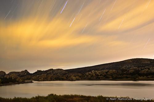 Watson Lake at Night by Matt Halvorson