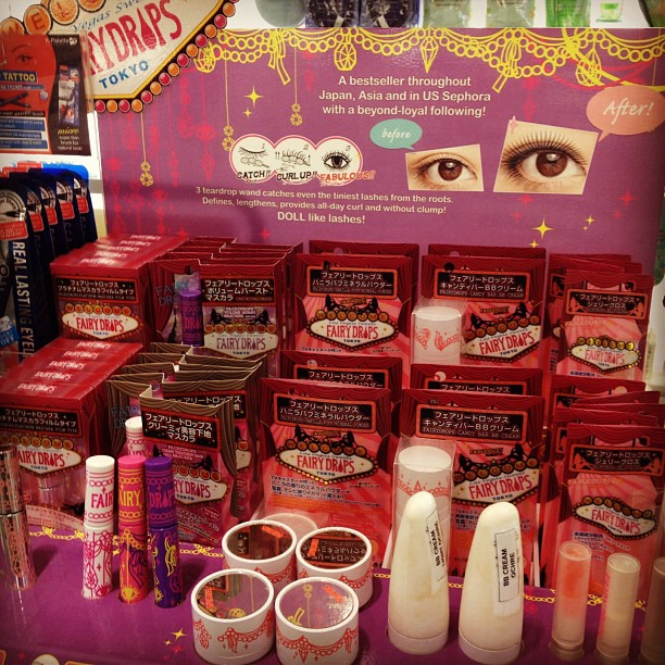 Wow Fairy Drops are finally at Beauty Bar. Amazing mascara! Must blog soon before these sell out... #japanese #makeup #mascara #fairydrops