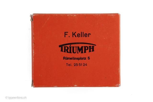 Farbbandschachtel Triumph r