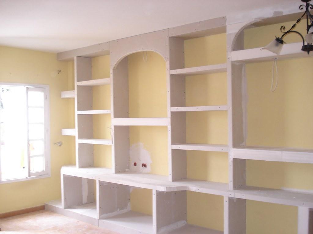 Muebles De Escayola O Pladur Verdemar Roquetas Construcciones - Mueble-escayola