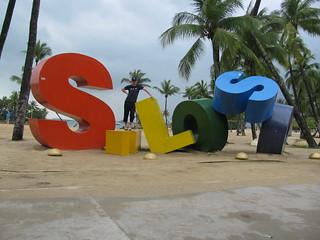 Siloso Beach, Sentosa Island