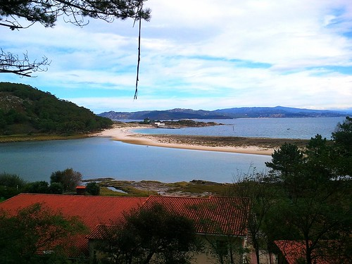 Tombola beach on Cies Islands #vigoalive