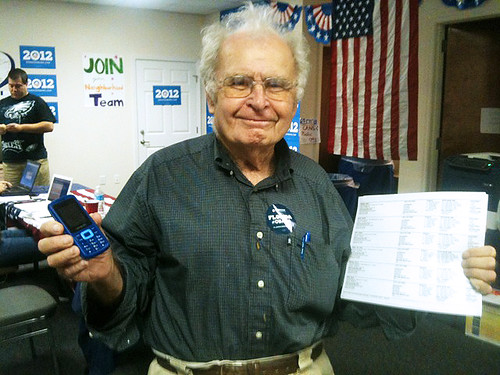 Arthur in Florida support President Obama