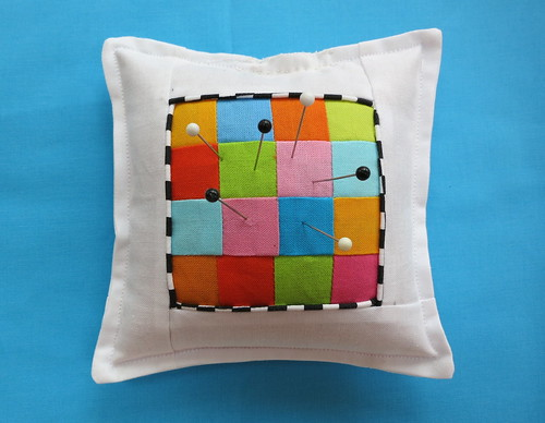 Checkered Pincushion