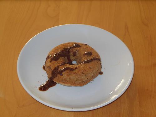 Paleo cinnamon donuts