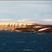 Last sunlight at Hinlopen, Svalbard