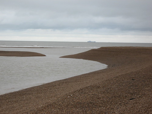 Shingle Street low tide