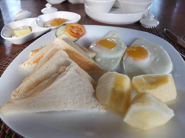 在發呆亭享用早餐