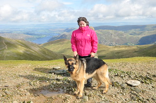 Blue and Sue on Helvellyn