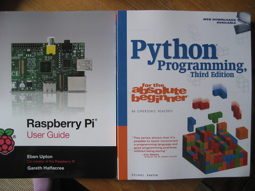 Cam's Raspberry Pi books