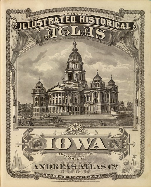 A.T. Andreas' illustrated historical atlas of the State of Iowa 1875